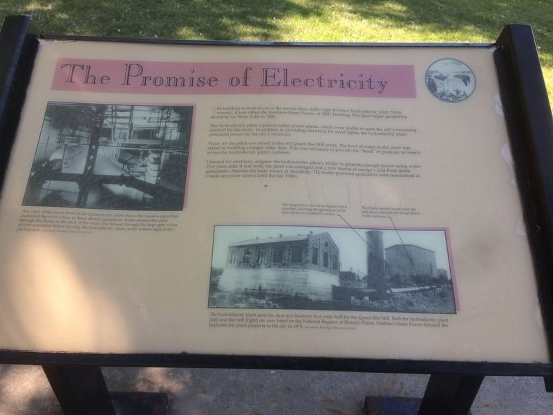 The Promise of Electricity Marker image. Click for full size.