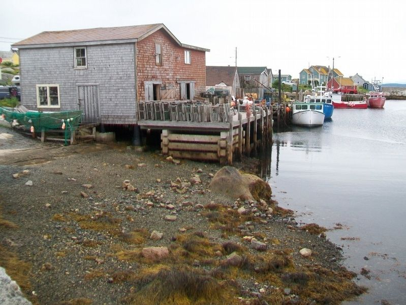 Peggy's Cove Waterfront image. Click for full size.
