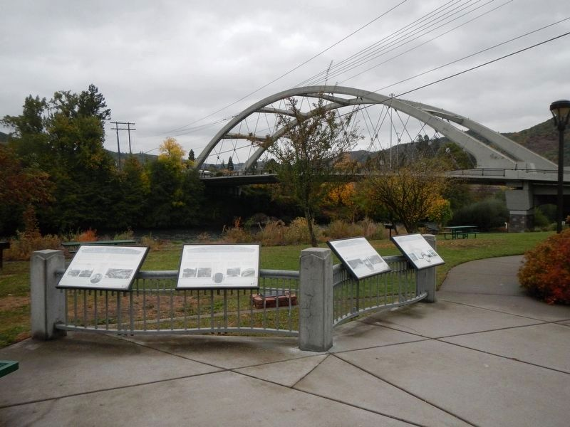 The City of Rogue River Marker image. Click for full size.