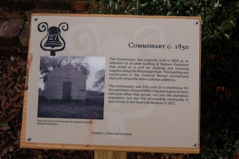 Commissary Marker image. Click for full size.