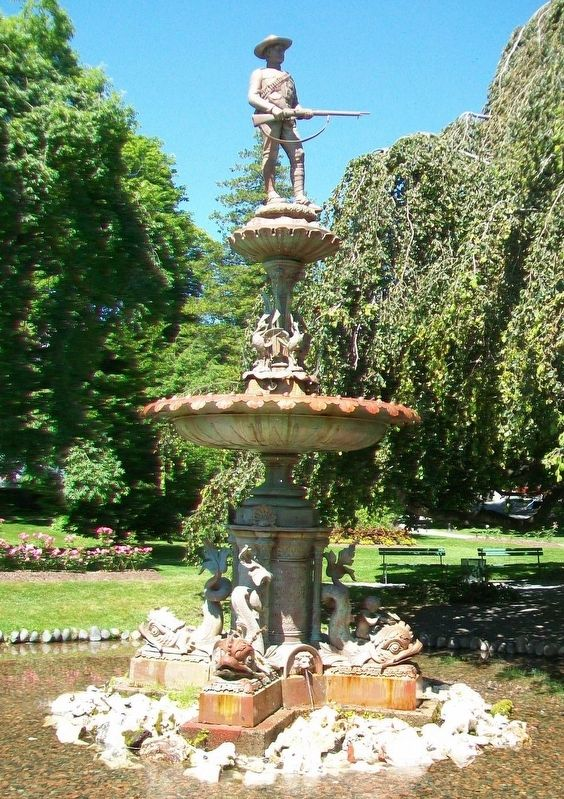 Boer War Memorial Fountain image. Click for full size.