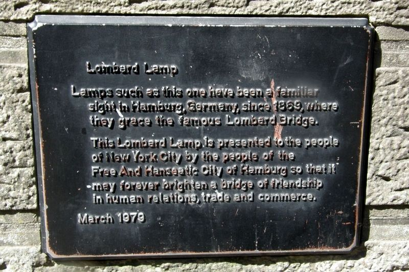 Lombard Lamp Marker image. Click for full size.