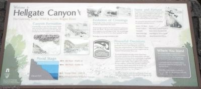Hellgate Canyon Marker image. Click for full size.
