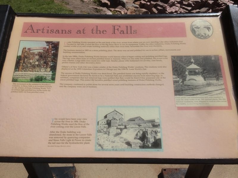 Artisans at the Falls Marker image. Click for full size.