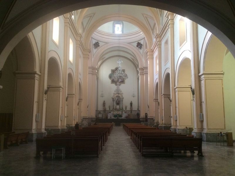 The interior of the Saint Augustine Church image. Click for full size.