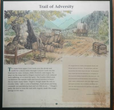 Trail of Adversity panel image. Click for full size.