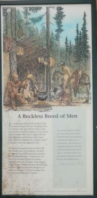 A Reckless Breed of Men panel image. Click for full size.