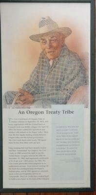 An Oregon Treaty Tribe panel image. Click for full size.