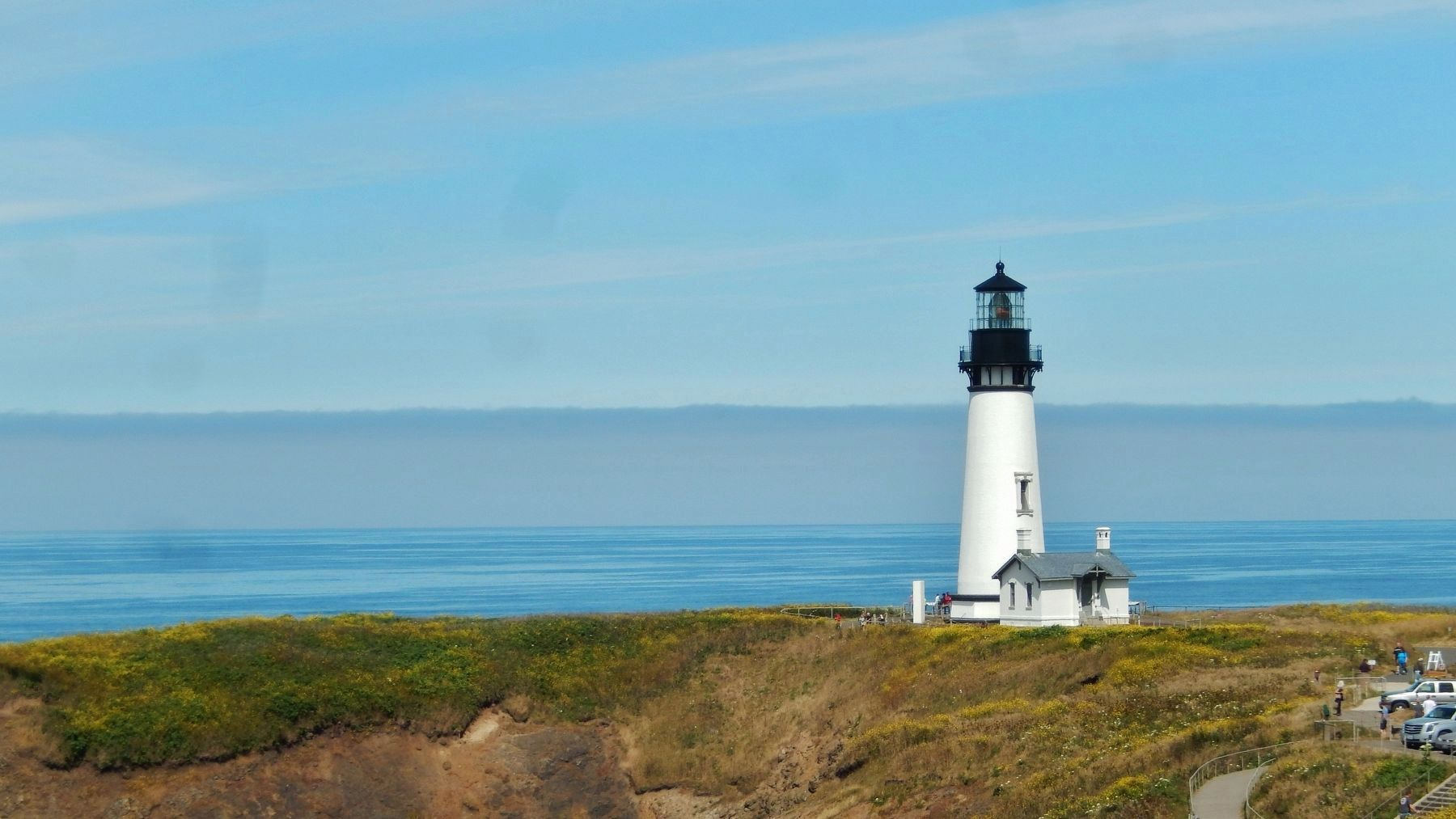 Yaquina Head Lighthouse image. Click for full size.