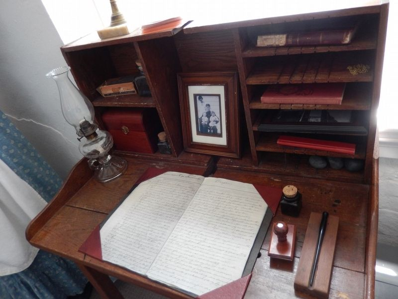Keeper's Desk detail image. Click for full size.
