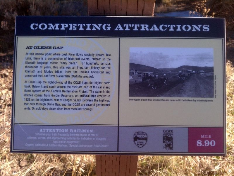 Competing Attractions Marker image. Click for full size.