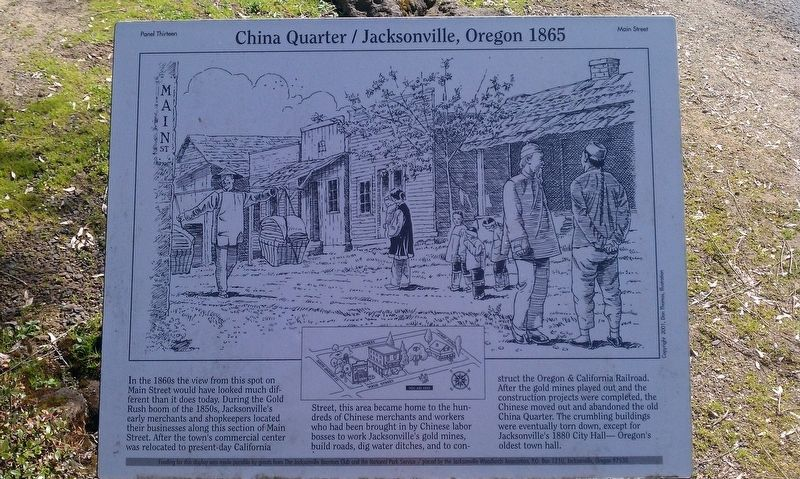 China Quarter Marker image. Click for full size.