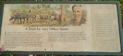 A Trail by Any Other Name Marker image. Click for full size.