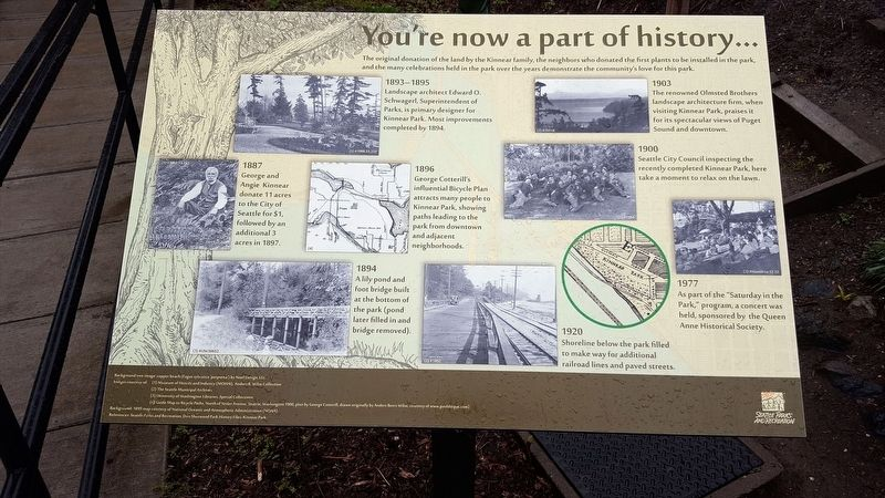You're Now a Part of History Marker image. Click for full size.