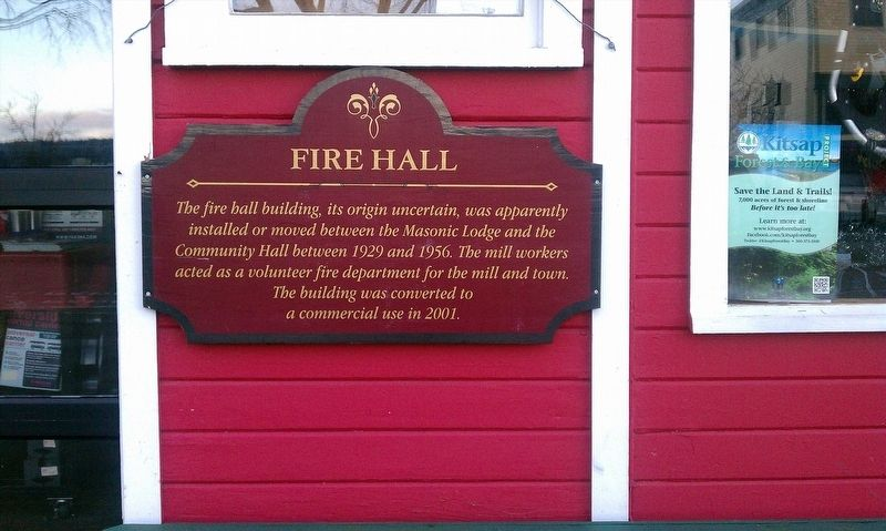 Fire Hall Marker image. Click for full size.