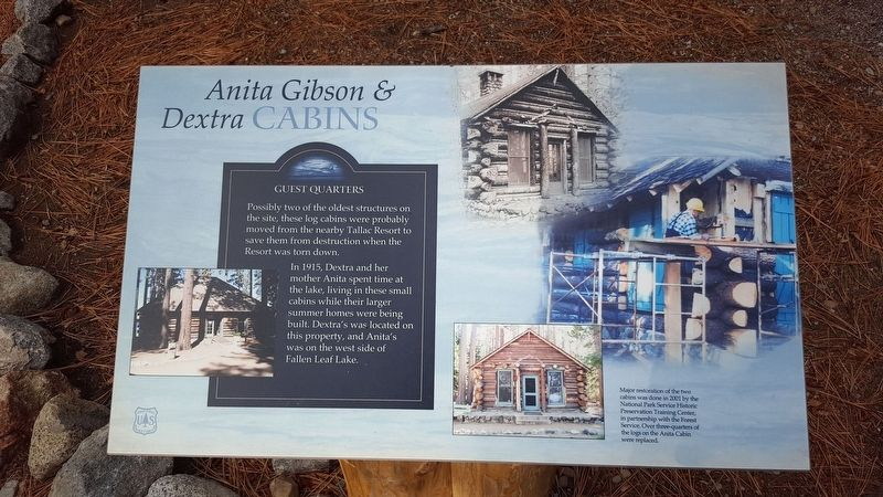 Anita Gibson & Dextra Cabins Marker image. Click for full size.