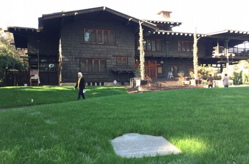 The Gamble House image. Click for full size.