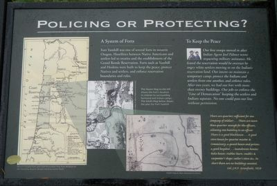 Policing or Protecting? Marker image. Click for full size.
