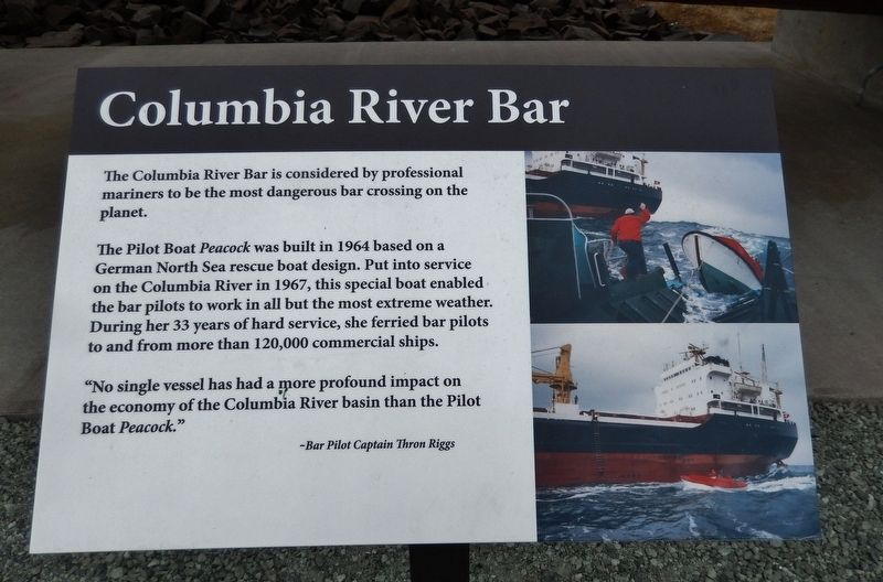 Columbia River Bar Marker image. Click for full size.