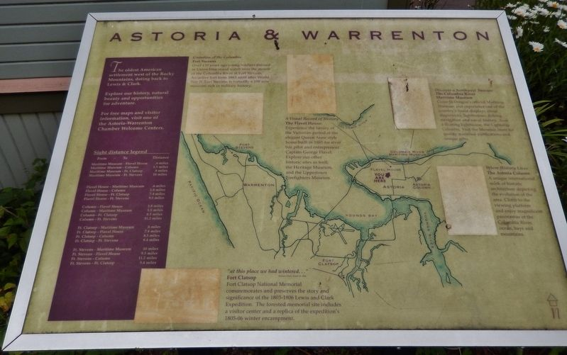 Astoria & Warrenton Marker image. Click for full size.