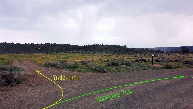 Applegate Trail / Yreka Trail image. Click for full size.