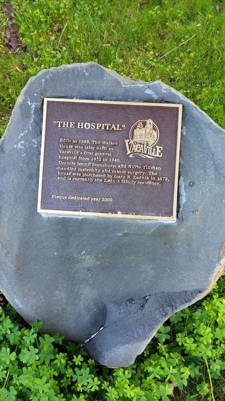 """The Hospital"" Marker image. Click for full size."