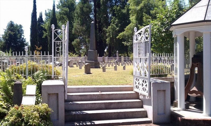 Sacramento's Volunteer Fire Department cemetery plot image. Click for full size.