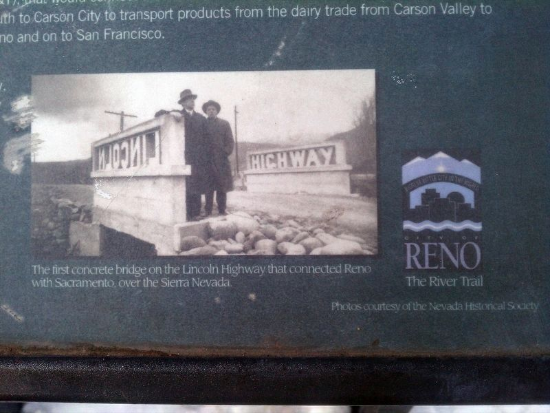 Reno at the Crossroads Marker image. Click for full size.