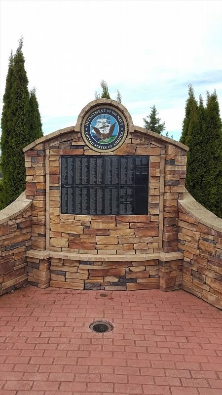 Oregon Fallen War Heroes Memorial Marker image. Click for full size.