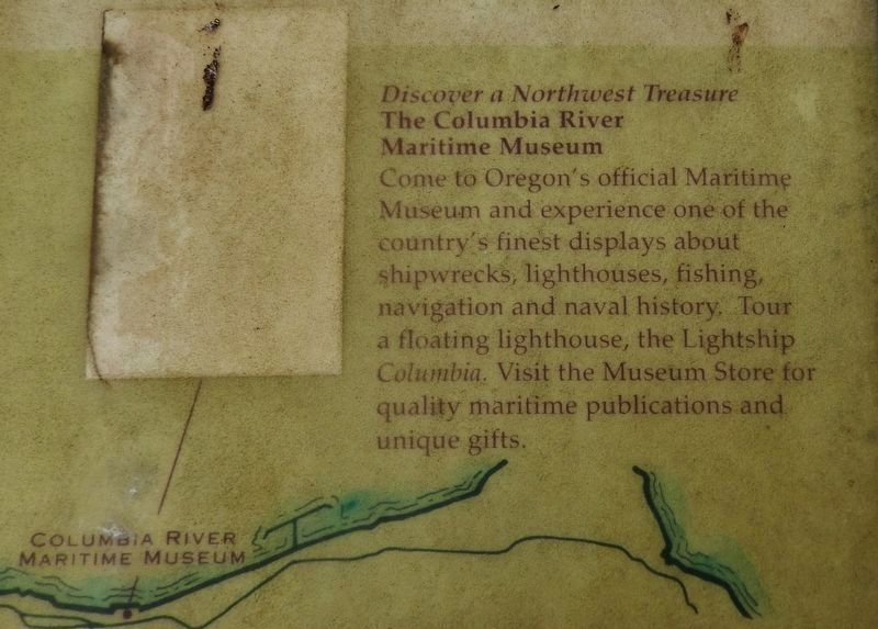 Marker detail: Columbia River Maritime Museum image. Click for full size.