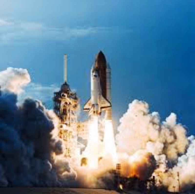 3 Space Shuttle Challenger, Final Launch image. Click for full size.