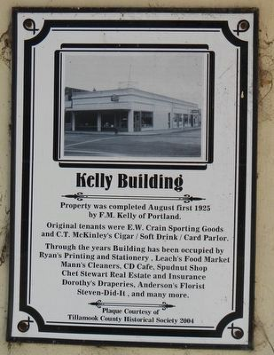 Kelly Building Marker image. Click for full size.