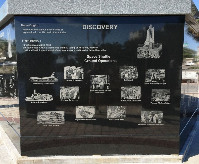Discovery Marker image. Click for full size.