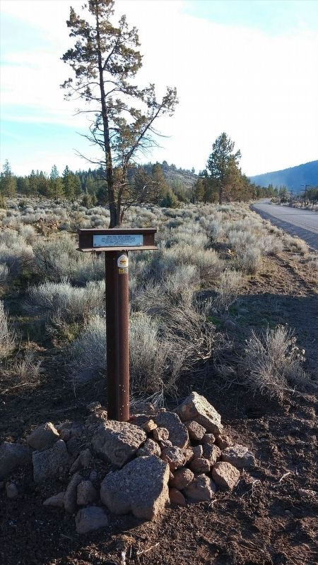 Yreka Trail - Quite a Stream Marker image. Click for full size.