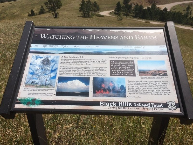 Watching the Heavens and Earth Marker image. Click for full size.