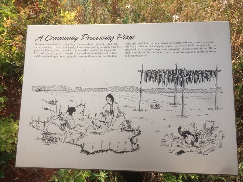 A Community Processing Plant Marker image. Click for full size.