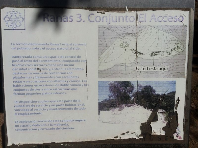Las Ranas and the Access Complex Marker image. Click for full size.