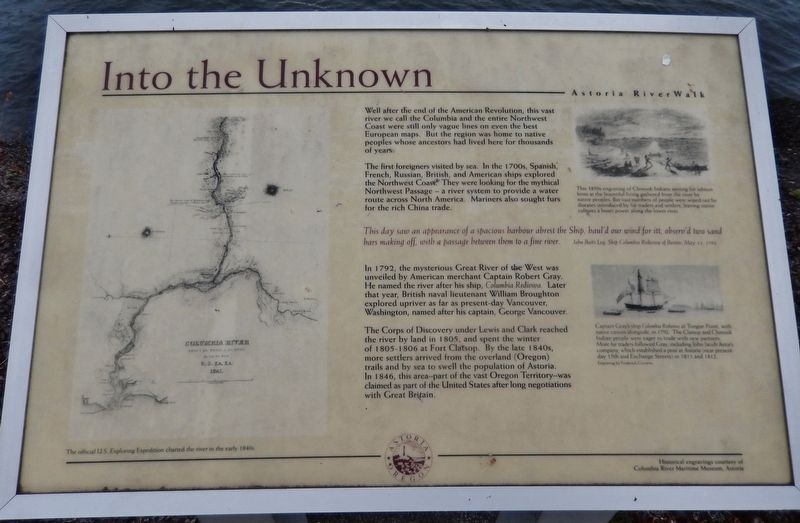 Into the Unknown Marker image. Click for full size.