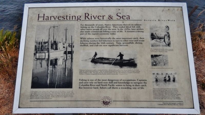 Harvesting River & Sea Marker image. Click for full size.