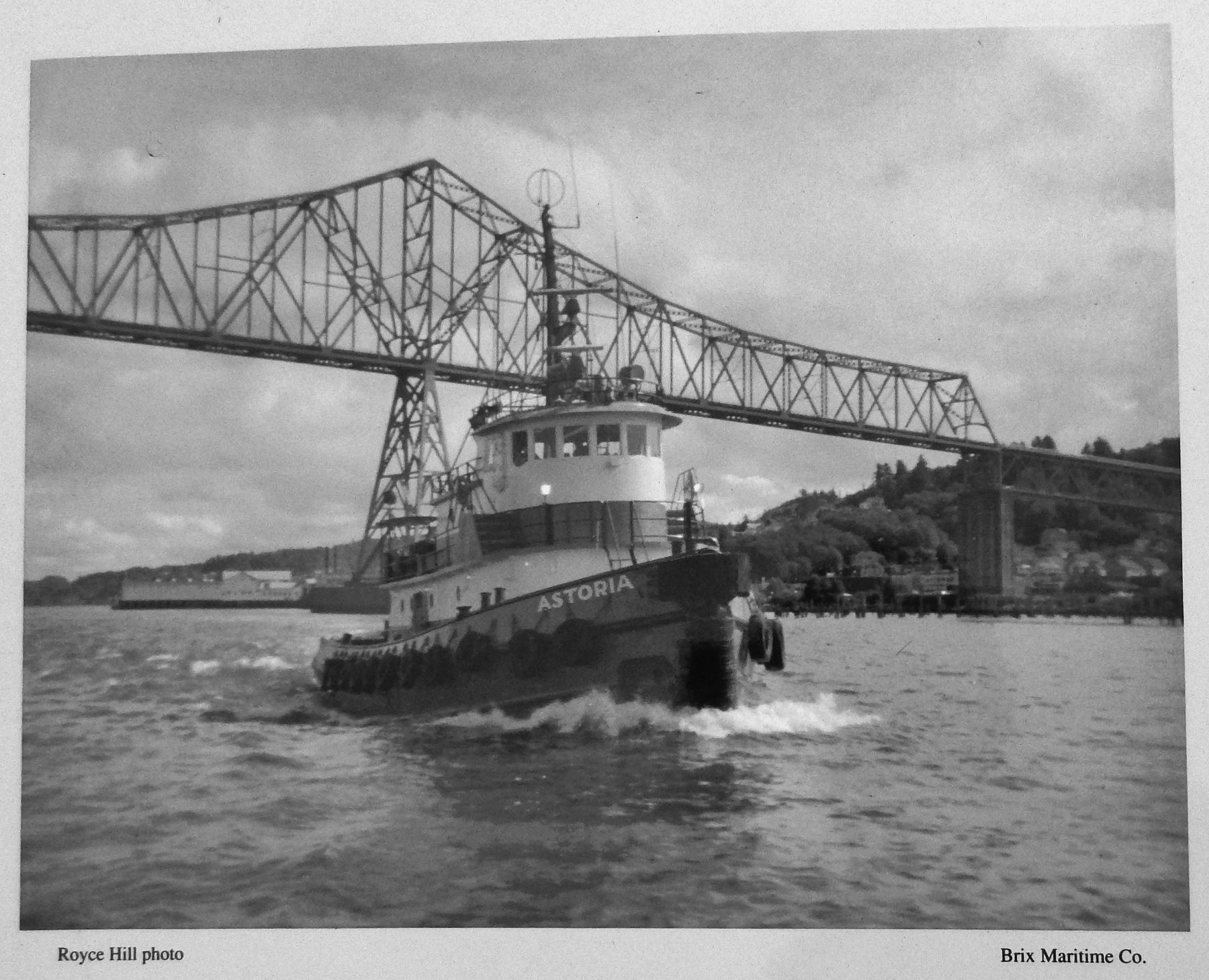 Marker detail: <i>Astoria</i> Tug image. Click for full size.