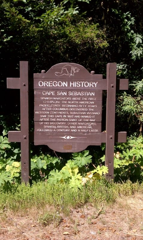Cape San Sebastian Marker image. Click for full size.
