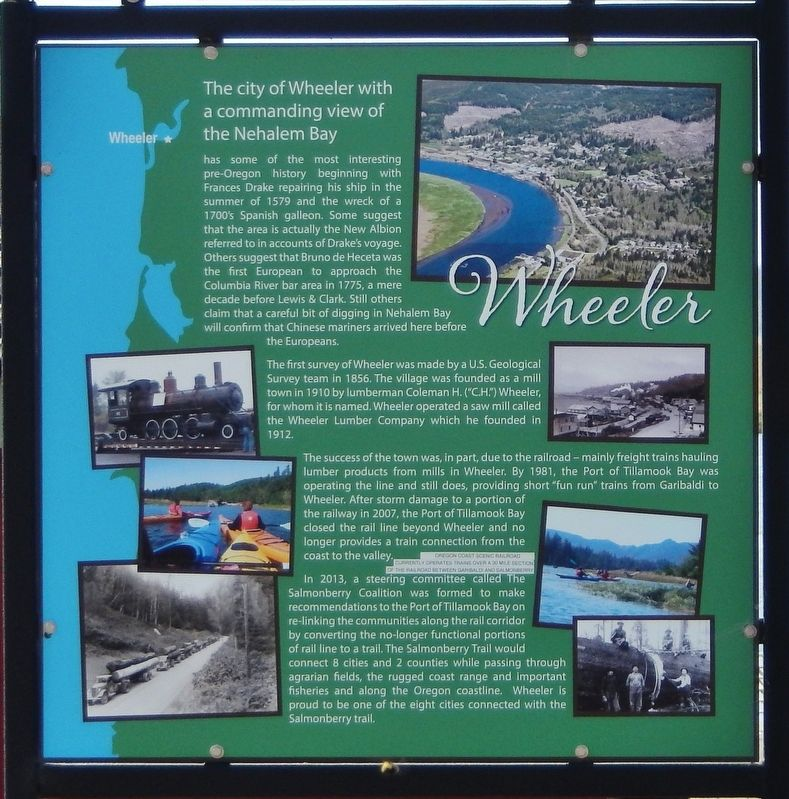Wheeler Marker image. Click for full size.