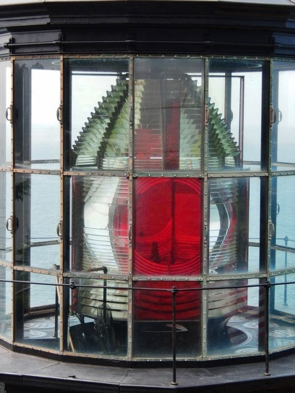 Cape Meares Lighthouse Lens image. Click for full size.
