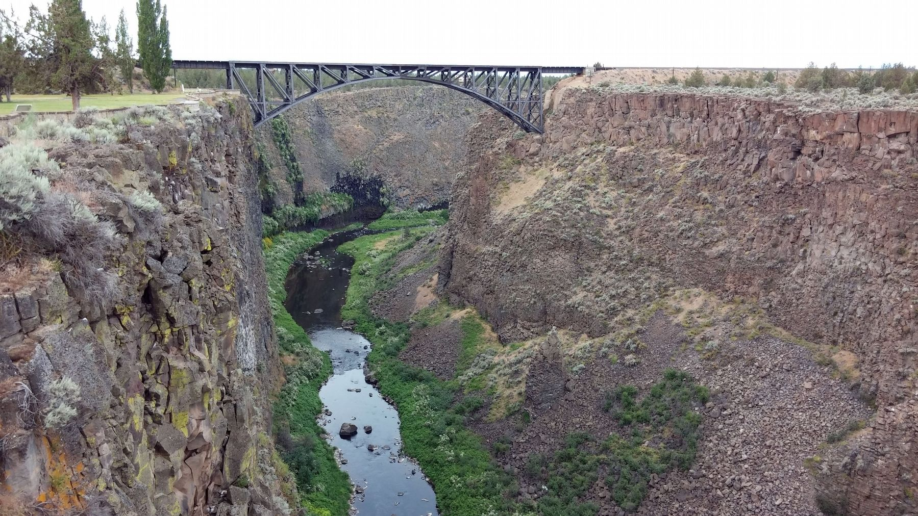 Crooked River image. Click for full size.