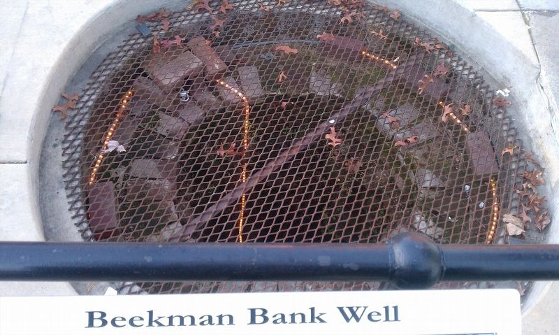 Beekman Bank Well image. Click for full size.