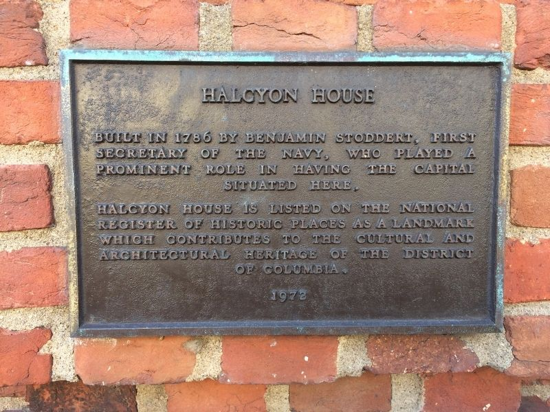 Halcyon House Marker image. Click for full size.