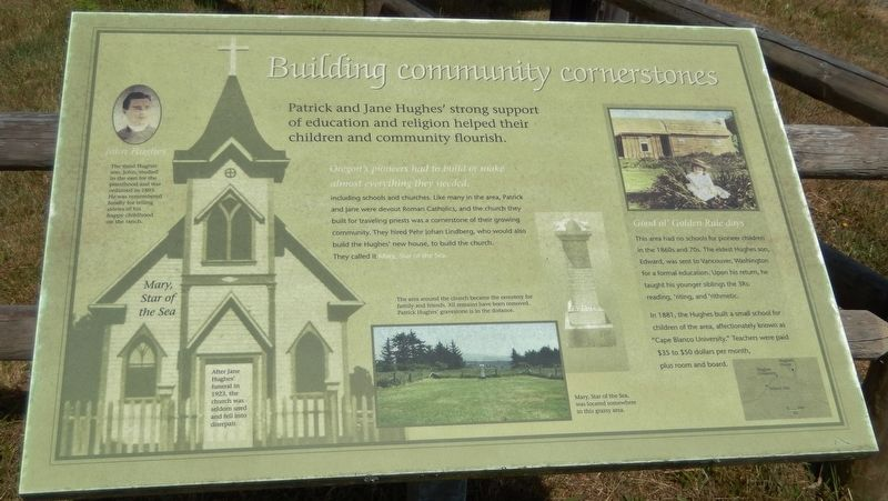 Building Community Cornerstones Marker image. Click for full size.