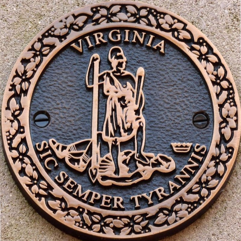 Seal of the Commonweath of Virginia<br>Sic Semper Tyrannis image. Click for full size.