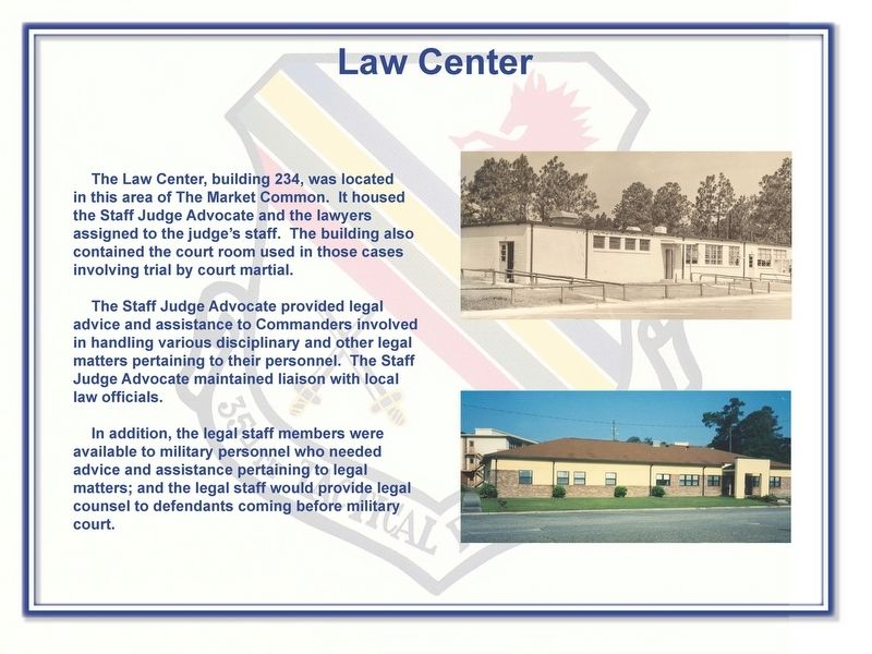 Law Center Marker image. Click for full size.