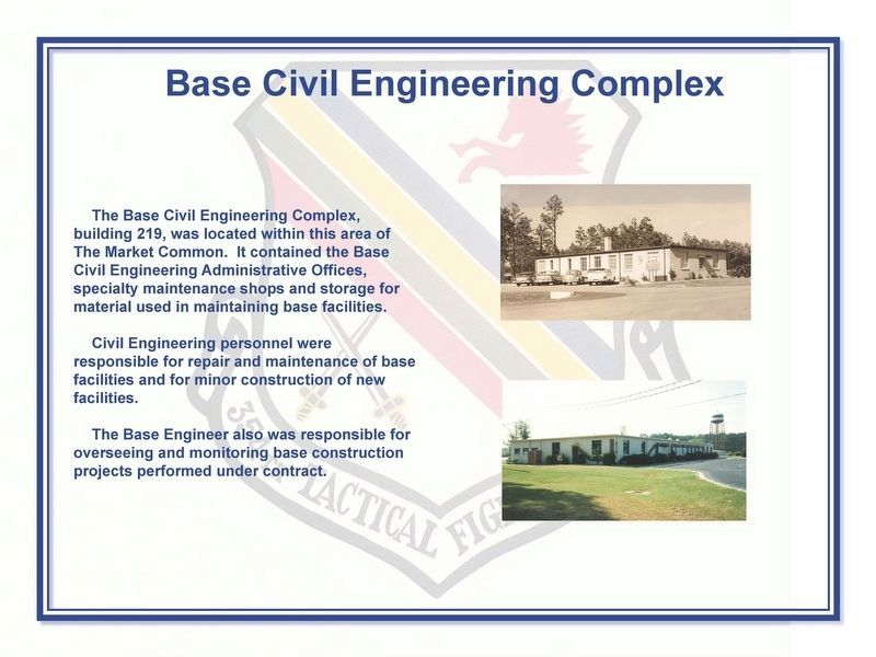 Base Civil Engineering Complex Marker image. Click for full size.